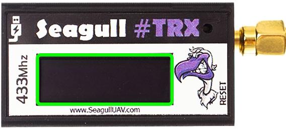 TRX OLED antenna cut