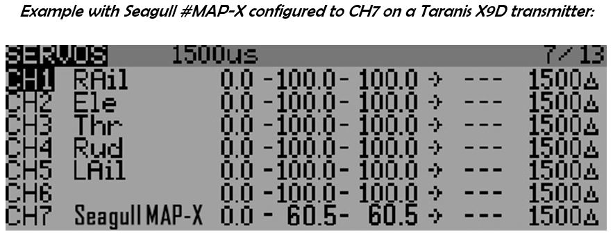 transmitter mapx